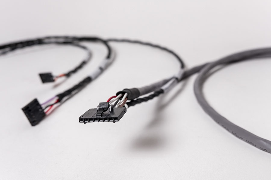Custom Wire Rope Assemblies : Custom harness cable assemblies jem electronics inc